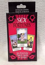Fortuna Sexual Sex Fourtunes Positions Tarot Cards Lovers Couples Hot Spicy Gift