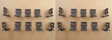 20 VINTAGE WINDOW MOLDING CLIPS ALL '55-64 GM CARS BEL AIR NOVA CADILLAC IMPALA