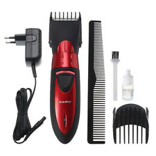 Washable Rechargeable Men's Electric Shaver Beard Hair Clipper Trimmer Grooming