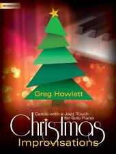 """CHRISTMAS IMPROVISATIONS"" INTERMEDIATE PIANO MUSIC BOOK-BRAND NEW ON SALE!!"