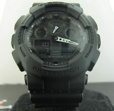 G-Shock Casio GA100-1A1 Stealth Blk Magnetic Resist World Time 200mWater Resist