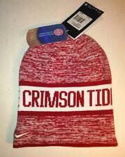 Brand New Nike Alabama Crimson Tide Reversible  Unisex Beanie Burgundy/ White