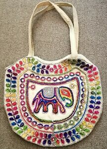 Handloom Shoulder Handbag Made Handloom Fabric Bag