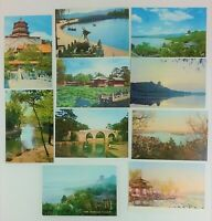9 Photo Postcards Peking China The Summer Palace Color 1978 Vintage