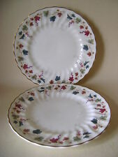 TWO ROYAL DOULTON CANTERBURY H4965 6.5 INCH PLATES