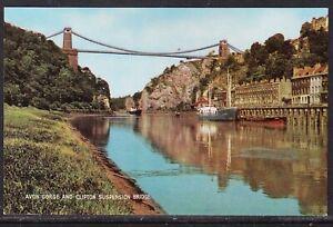 England  Picture Post Card c1975 Avon Gorge Clifton Bridge - Unused