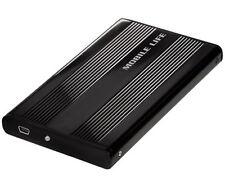 "500GB 2,5"" EXTERNE FESTPLATTE SAMSUNG HGST ALU SATA USB 2.0 PC Notebook Computer"