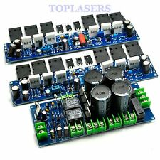 L10 Class A 50W+50W Amplifier Board + Power Supply Board + Speaker Protection