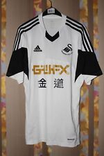 RARE SWANSEA CITY 2013 2014 HOME FOOTBALL SHIRT JERSEY ADIDAS WALES