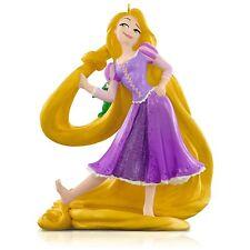 Rapunzel and Pascal 2015 HALLMARK ORNAMENT Disney Tangled Princess  Golden Hair