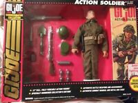 1993 GI JOE - COMMEMORATIVE COLLECTION ACTION SOLIDER NEVER OPENED RARE!