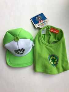 NWT  Build-a-Bear Paw Patrol  Rocky  Vest  and Hat