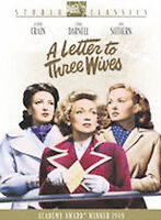 A Letter to Three Wives - 20th Fox (DVD, 2005) -OOP/Rare - Region 1 - NEW