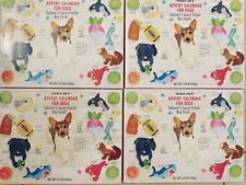 4 New Advent Pet Calendars Dogs 2019 Trader Joe'S Fast Priority Shipping! Rare!