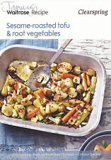 Recipe Card: Sesame-Roasted Tofu & Root Vegetables (Waitrose)