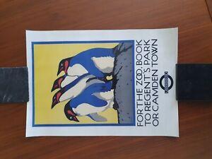 For the Zoo London Underground Penguin Print 30cm x 40cm