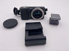 Sony Alpha NEX-3N 16.1MP Mirrorless Digital Camera Body with Flash & Charger