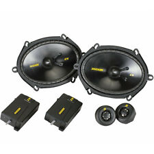 "KICKER CSS68 (40CSS684) 6x8"" CAR COMPONENT SPEAKERS SYSTEM 225W NEW"