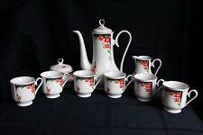 Beautiful Vintage Freiberger Porzellan 9 piece Tea Set