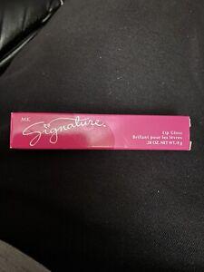Rare new full size NIB Mary Kay MK Signature ALMOND GLAZE Lip Gloss HTF 3125 HTF