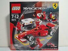 Lego Racers 8673 Ferrari F1 Fuel Stop New
