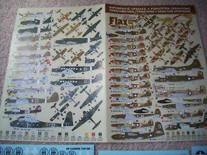 DP Casper 1:72 Decal Set - Forgotten Operations Flax Spring 1943 Set No 72016