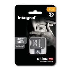 4GB Integral Micro Class 10 UHS-I U1 with SD Adaptor