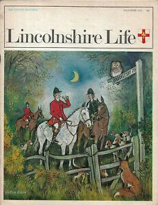 Brant Broughton illustrated local history etc Lincolnshire Life Dec 1972