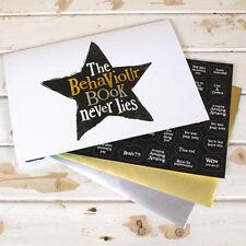Behaviour/Reward Sticker Book ~ Bright Side ~ Naughty or Nice