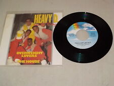 """HEAVY D Vinyl 45 in Pic Sleeve """"The Overweight Lovers In The House"""" HRE112125"""