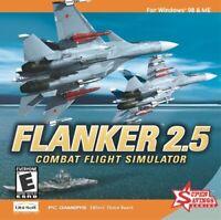 Flanker 2.5 Combat Flight Simulator Windows 98 / Me UbiSoft (Jewel Case)