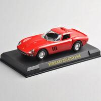 Red 1:43 Ferrari 250 GTO 1964 Racing Model Car Kids Toy home decor Gift&base