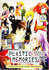 Plastic Memories DVD  (eps : 1 to 13 end) with English Subtitle