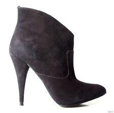 new STEVEN STEVE MADDEN 'Kinx' black nubuck ankle boots shoes 6 - SEXY