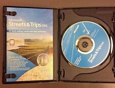 Microsoft Streets & Trips 2006 CD Software 2 Discs & Booklet Travel Map Software