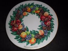 1988 Lenox Christmas Plate, Colonial Christmas, Limited Edition. Perfect $19.00