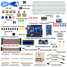 Adeept Primary Starter Kit for Arduino UNO R3 with 27 Projects with Processing