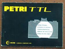 Petri TTL  - Anleitung