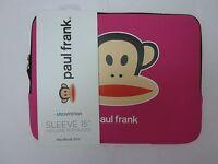 "Paul Frank ""Julius"" Laptop Sleeve 15"" PINK"