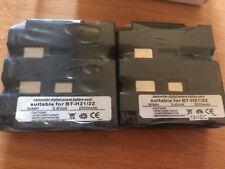 2 x Sharp BT-H21/22 Camcorder Batteries - SEALED compatibles - unused -