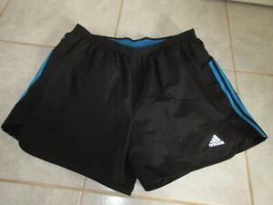 short de sport noir Adidas taille XL