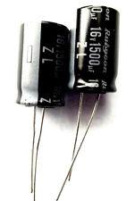 1500uf 16v 105c LOW ESR Size 12.5mmx20mm RUBYCON 16ZL1500MEFC12.5X20  x2pcs