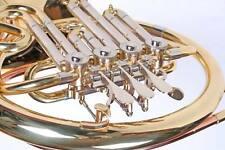 Bb Waldhorn, A Stopfventil, abnehmbarer Schallbecher, Spiralfederdruckwerk