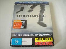 Chronicle (2012) - JB Hi-Fi Limited Steelbook Blu-Ray/DVD Region Free/4 | New