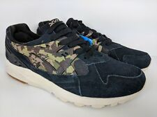 Asics Tiger Gel Kayano Trainer Shoe Black Martini Olive Camo (HL7C1 9086) s