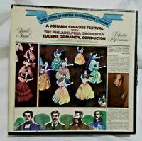 1973 The Philadelphia Orchestra A Johann Strauss Festival Reel to Reel Tape