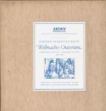 """Bach(3x12"""" Vinyl LP Box Set)Weihnachts Oratorium-Archive-198 353-55-Ger-Ex/Ex"""