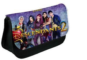 DESCENDANTS 2   Personalised Pencil Case, make up bag, school any name