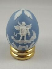 Parian style egg - Franklin Mint Treasury of Eggs
