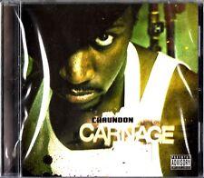 Chaundon- Carnage CD (NEW 2008 Hip Hop Rap) SEAN PRICE Justus League